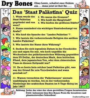Das Staat Palästina Quiz