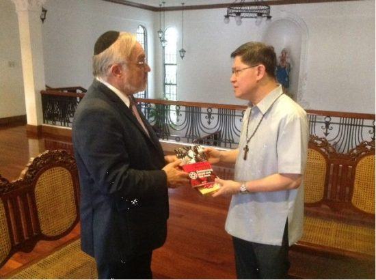 RabbiHier+CardinalTagle