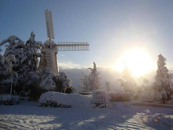 Die Jerusalemer Windmühle