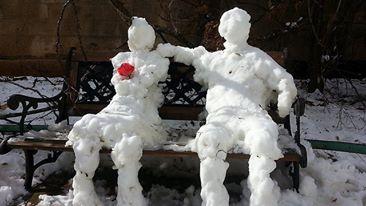 Schnee-paerchen