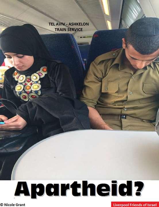 Im Zug von Tel Aviv nach Aschkelon