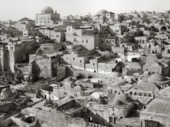 Zur Einweihung der Hurva-Synagoge in Jerusalem C565f-jewish_quarter_from_temple_mount