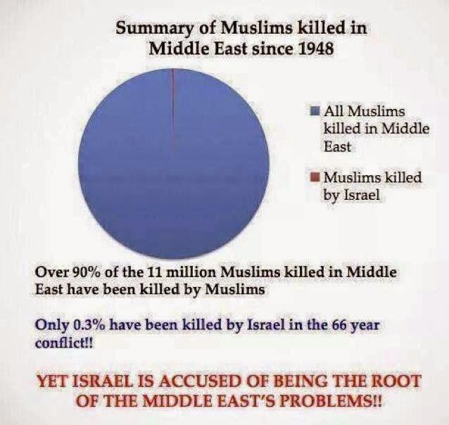 CarlJerusalem - Muslims killed in Middle East since 1948