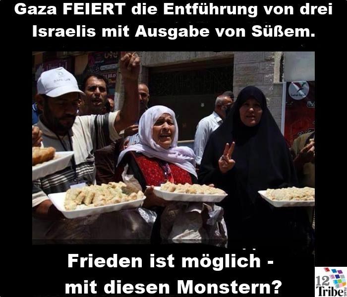Gaza-feiert-Entfuehrung