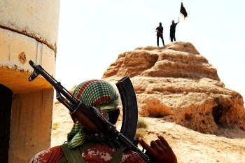 Religion des Friedens zwischen Anspruch und Realität Isis-wave-flag