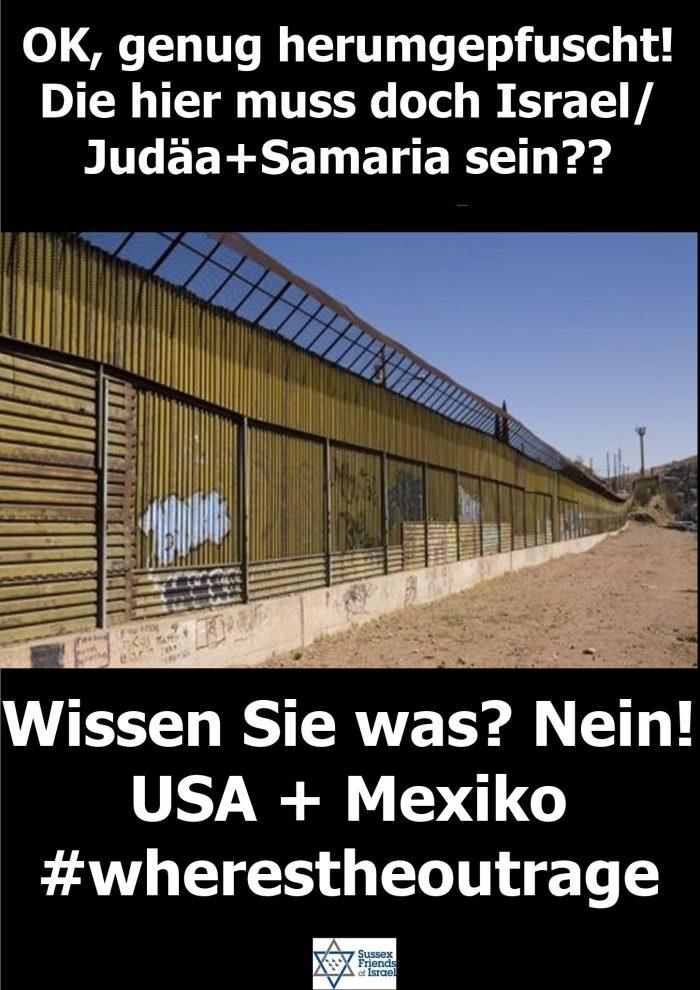 Mauerbauer-USA+Mexiko
