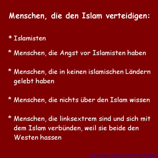 eine Standortbestimmung Menschen-die-den-islam-verteidigen