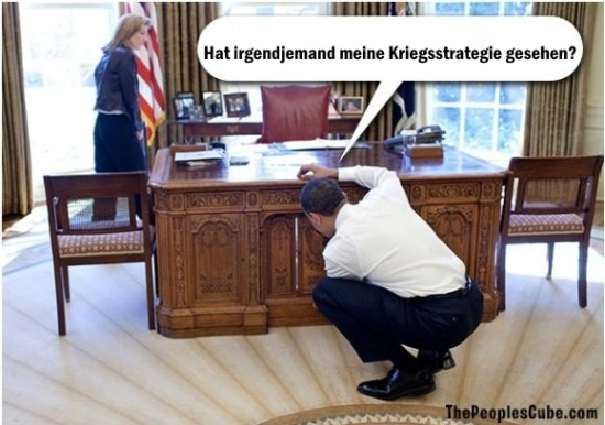 Obama.Kriegsstrategie