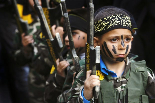 2014 Hamas Children Training for Jihad
