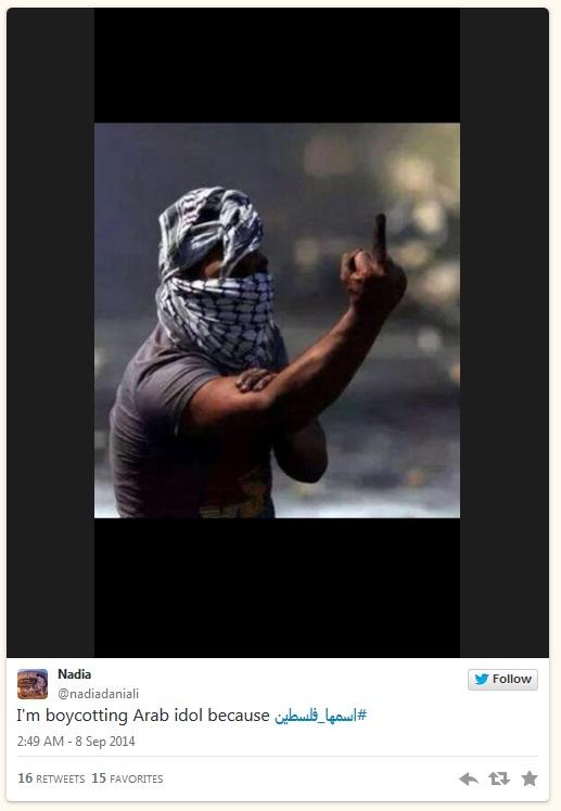 ArabIdol-Boykott