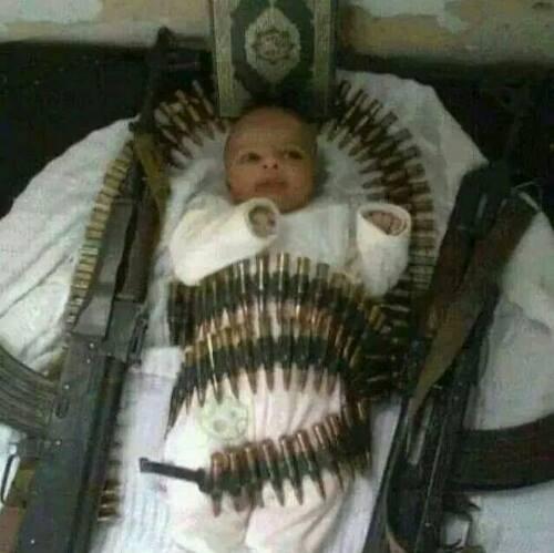Hamas-baby-munition