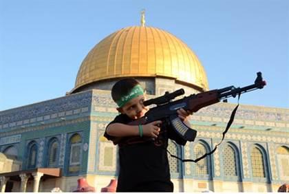Hamas-Kind-Felsendom