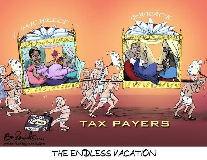 Obama.vacation+taxpayers