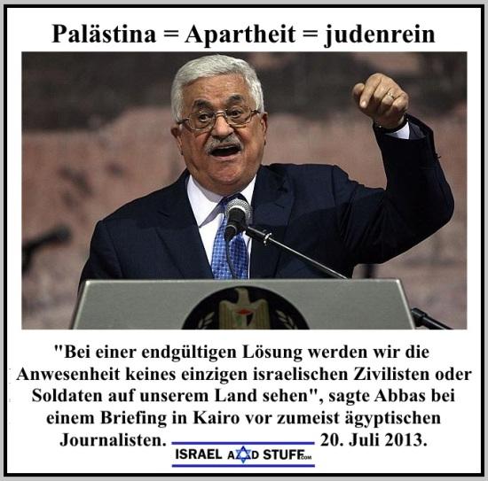 Abbas.Palästina=Apartheit