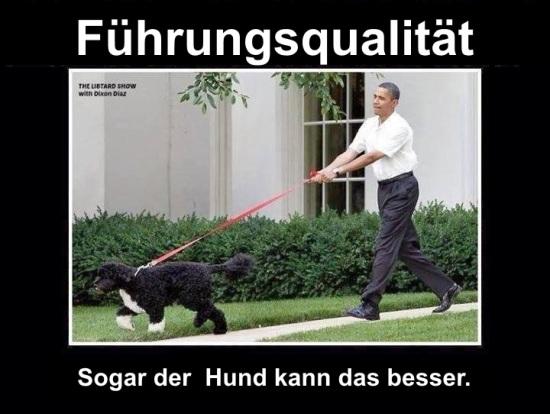 Obama.Hund