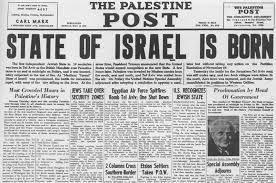 Palestine-Post-Titelseite