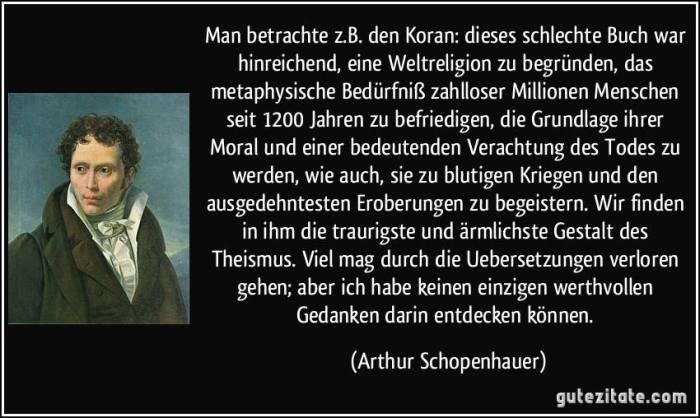 Schopenhauer-Islam