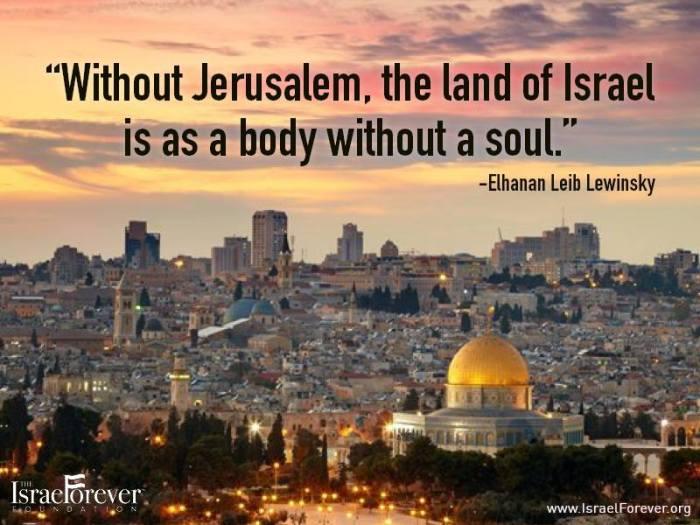 Israel-ohne-Jerusalem