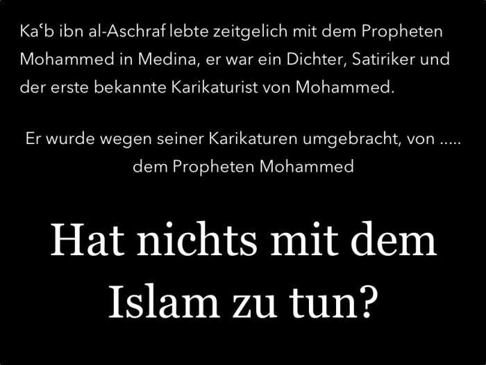 Karikaturenmörder-Mohammed