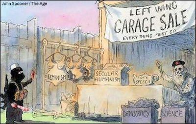 Linker-Ausverkauf