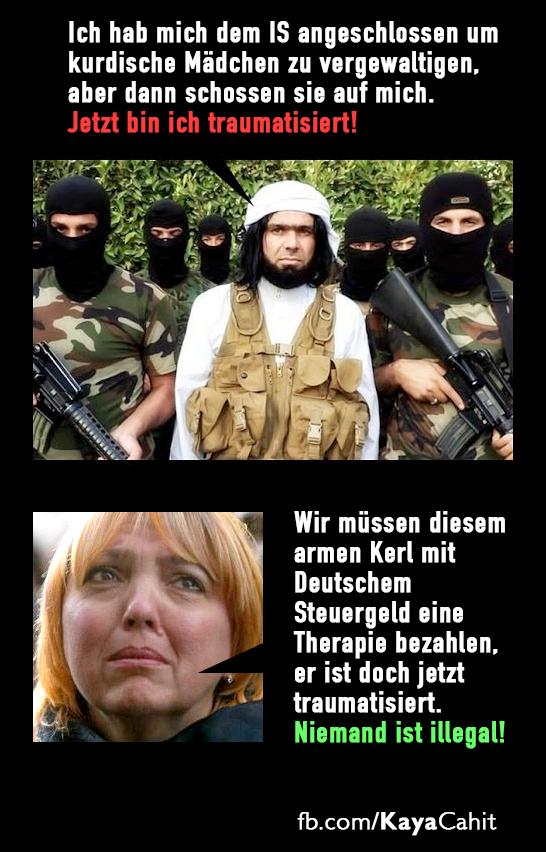 IS-Terroristen+Gutmenschen