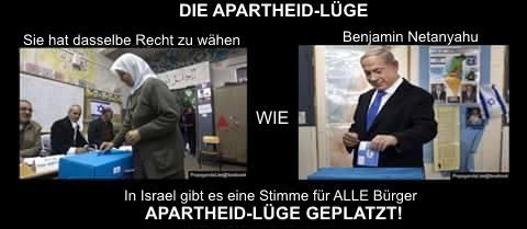 Apartheid-Lüge-geplatzt