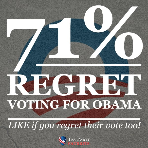 Obama_72%regret-voting-for-him