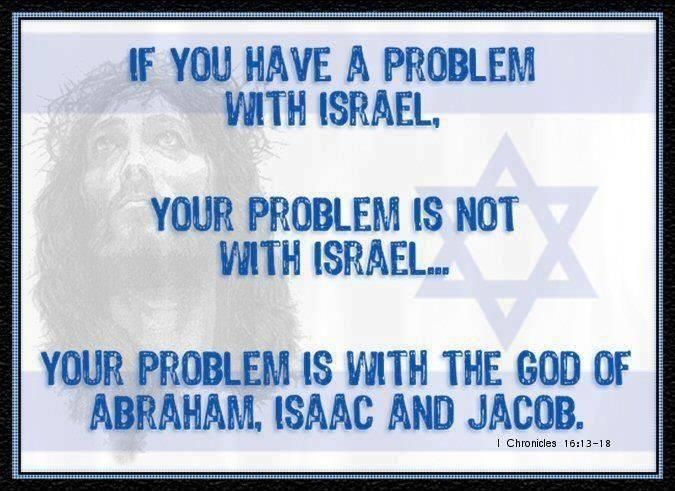 Problem-mit-Israel=Problem-mit-Israels-Gott