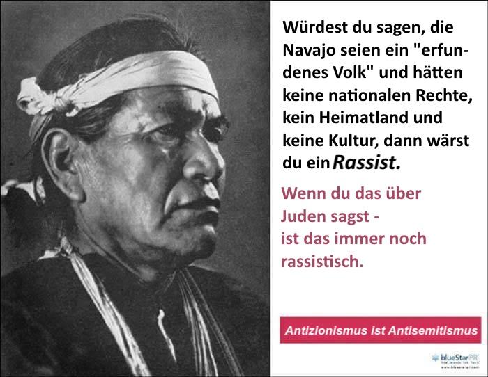 Navajos-Juden-Rassismus