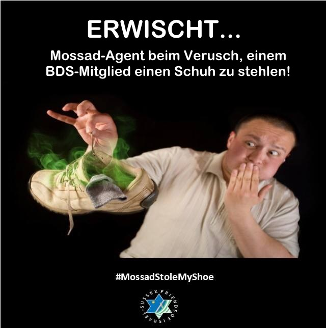 Mossad-Schuhdieb