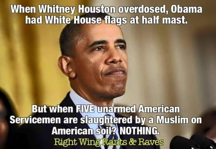 Obama-Halbmast