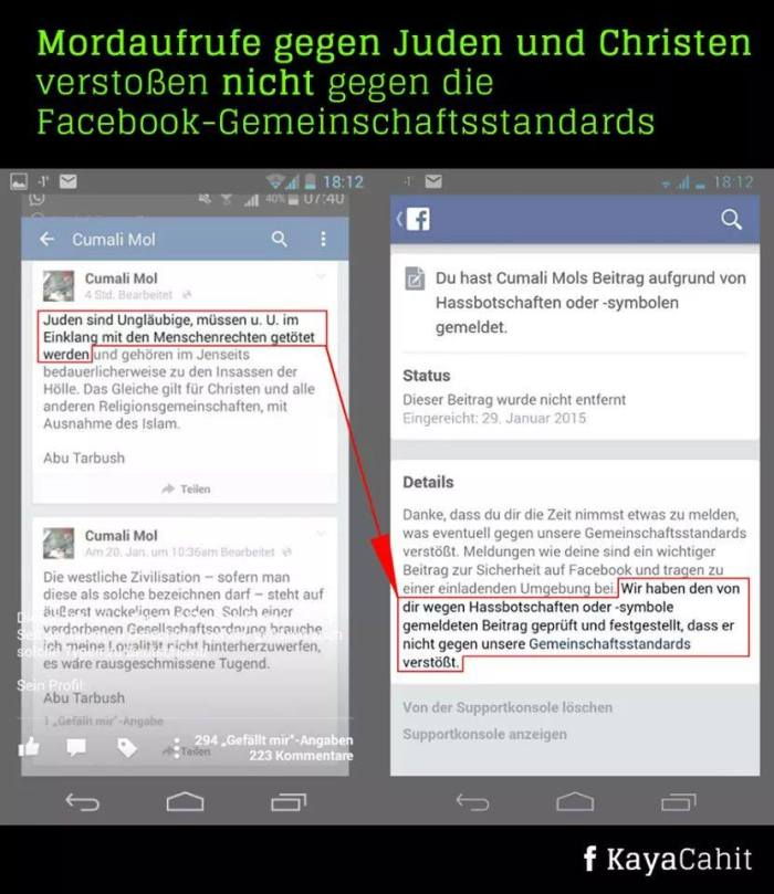 Facebook_Mordaufruf-kein-Problem
