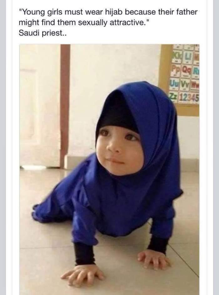 SaudischerPrediger_jungeMädchen-müssen-Hijab-tragen