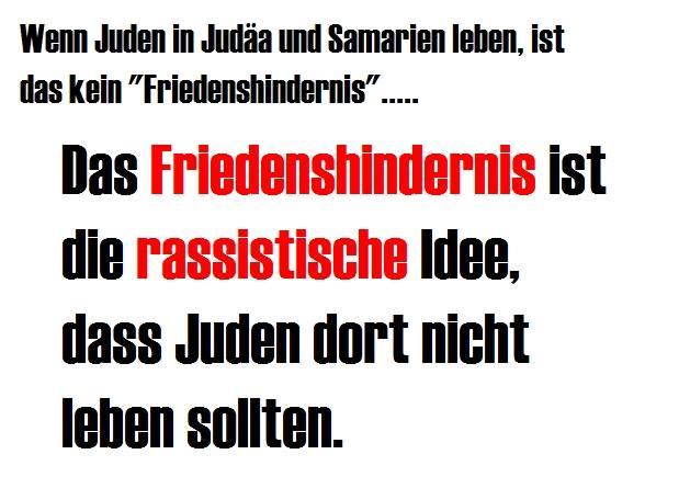 Friedenshindernis-Judenreinheit