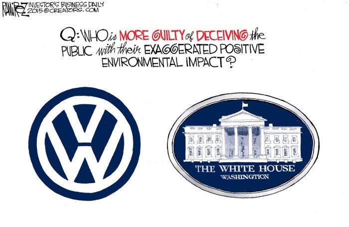 Obama-v-VW