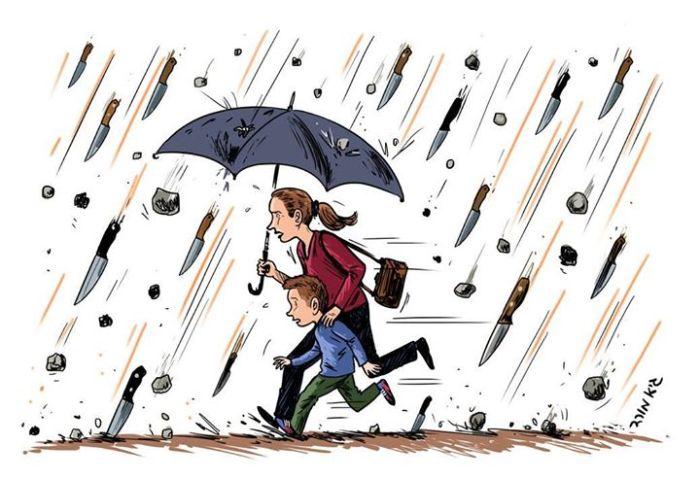 Terror-Regen-Israel