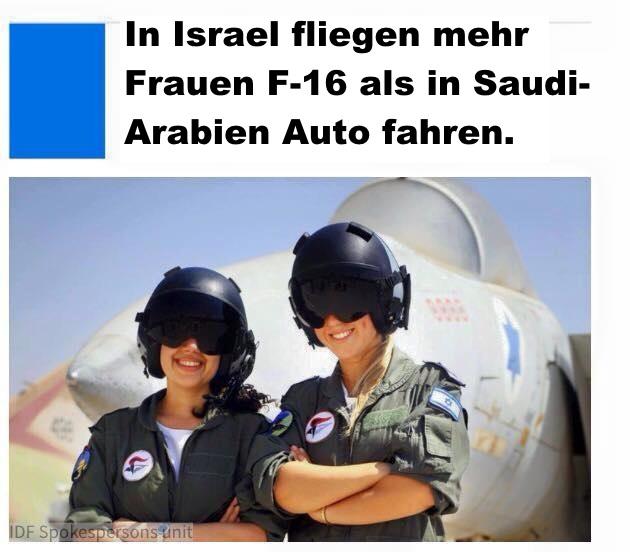F-16pilotinnen+SaudischeAutofahrerinnen