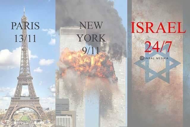 Paris-NewYork-Israel
