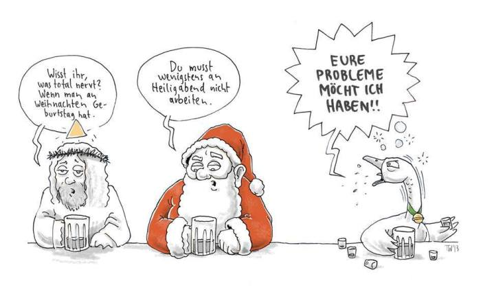 Weihnachtsprobleme