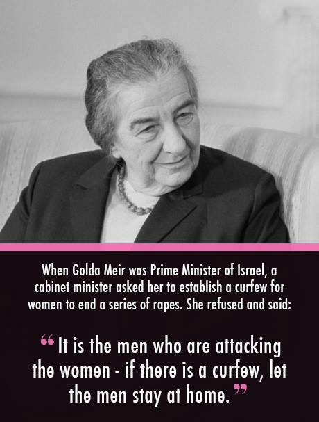 Golda+Frauenrechte