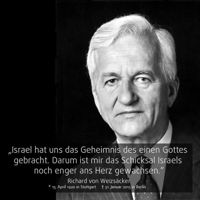 Weizsäcker_Israel