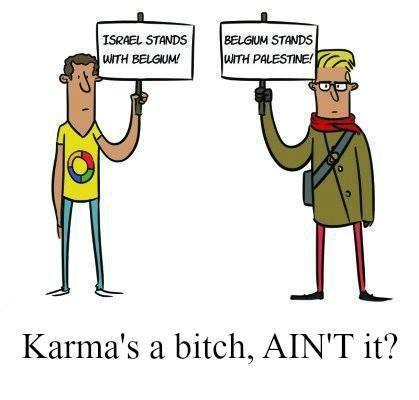 Karma's-bithch-Belgien