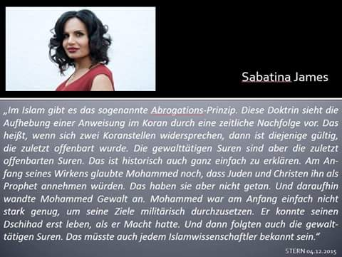 Sabatina-James-Koran