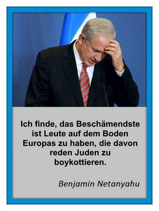 Netanyahu-Europa-Boykott