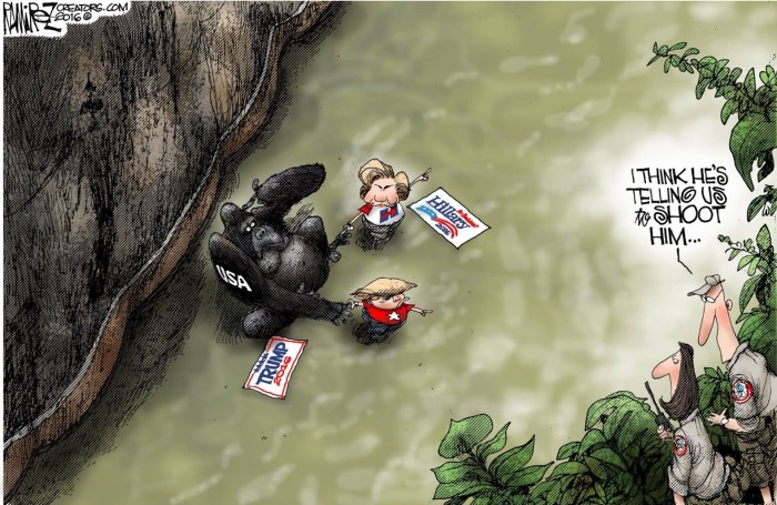 Obama_Gorilla-Hillary-Trump