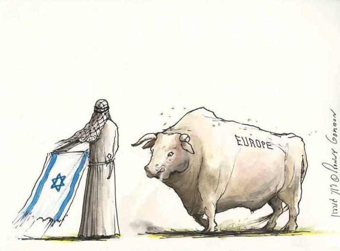 Araber-Stier-Europa