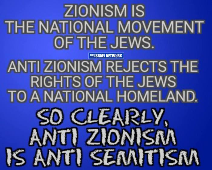 anti-zionismanti-semitism