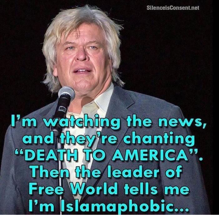 death-to-america-islamophobe